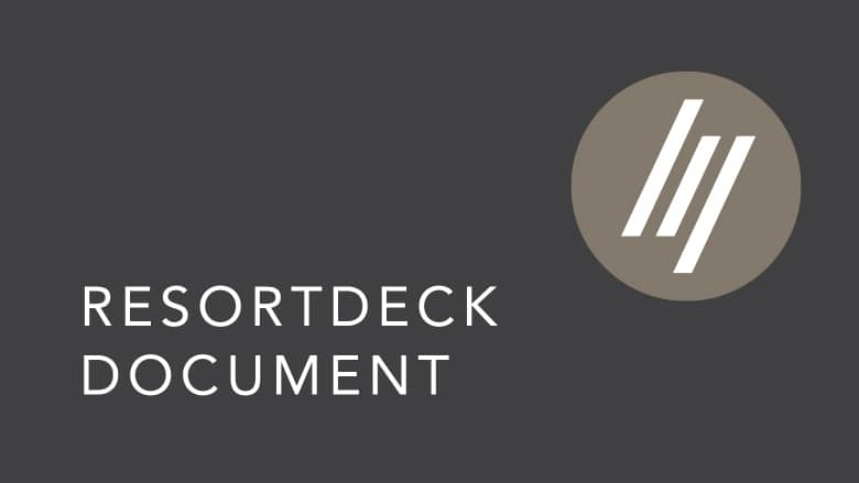 ResortDeck Warranty