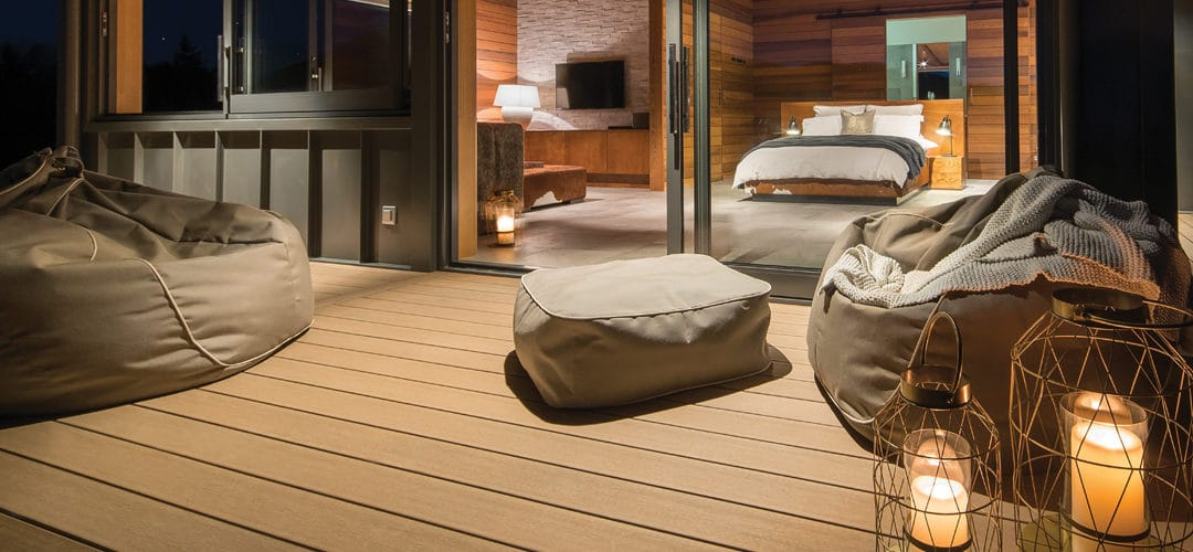 Feature: kit set decking materials and installation