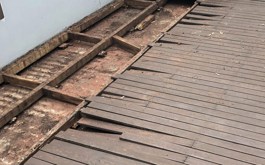6 costly mistakes when designing decking over membrane.