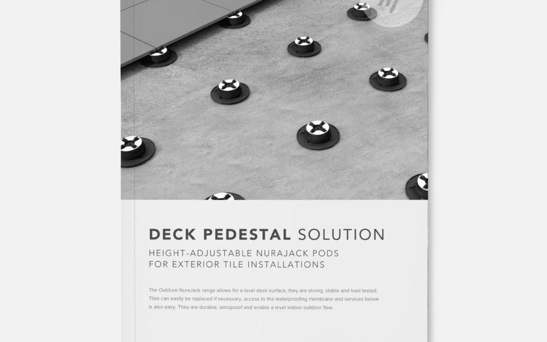 Deck Pedestal Brochure