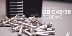 Product Series | Aluminium Screws Range QB-C45/36