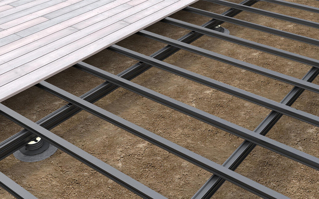 QwickBuild Aluminium Deck Framing System Provides Alternative to Traditional Deck Construction