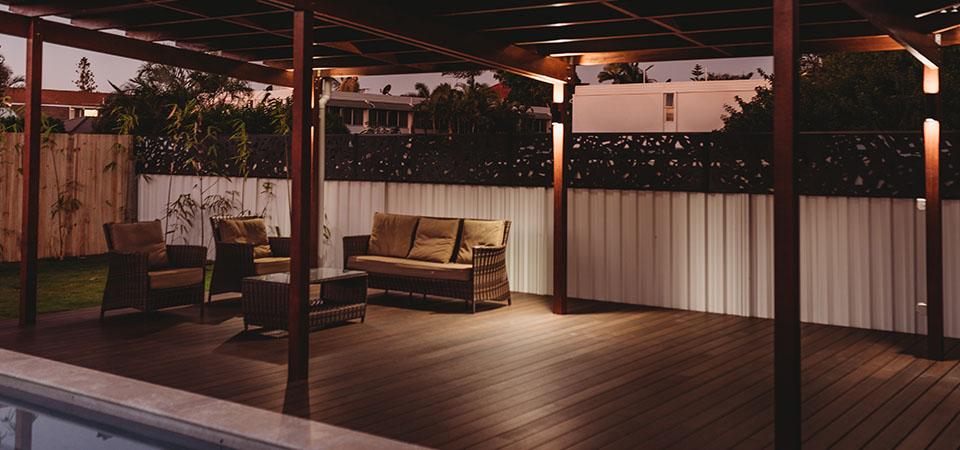 Seamless indoor outdoor flow decking solution