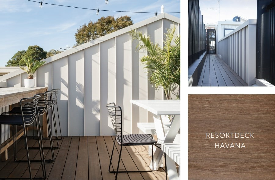 Get close to natures with this decking style
